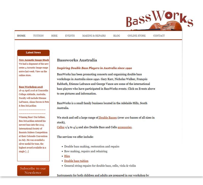 Bassworks - Double Bass Online Store