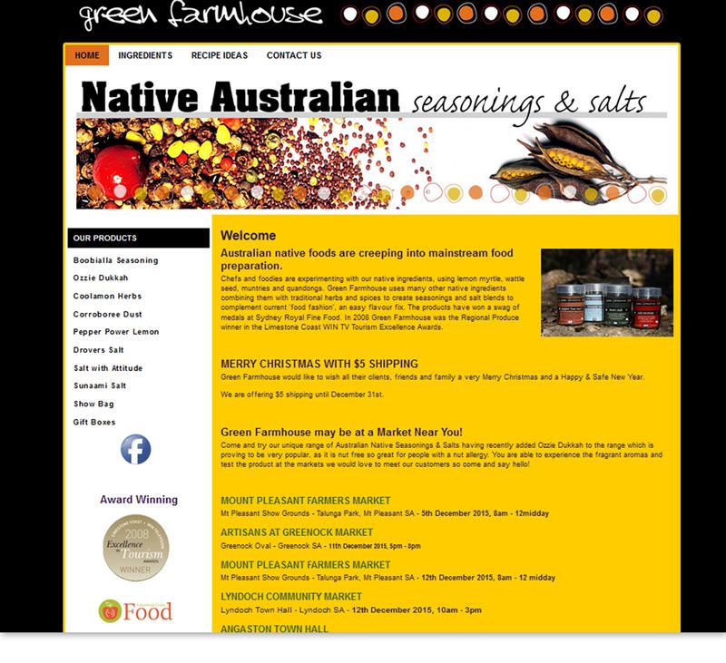 Green Farm House - Native Australian Seasonings & Salts Online Store