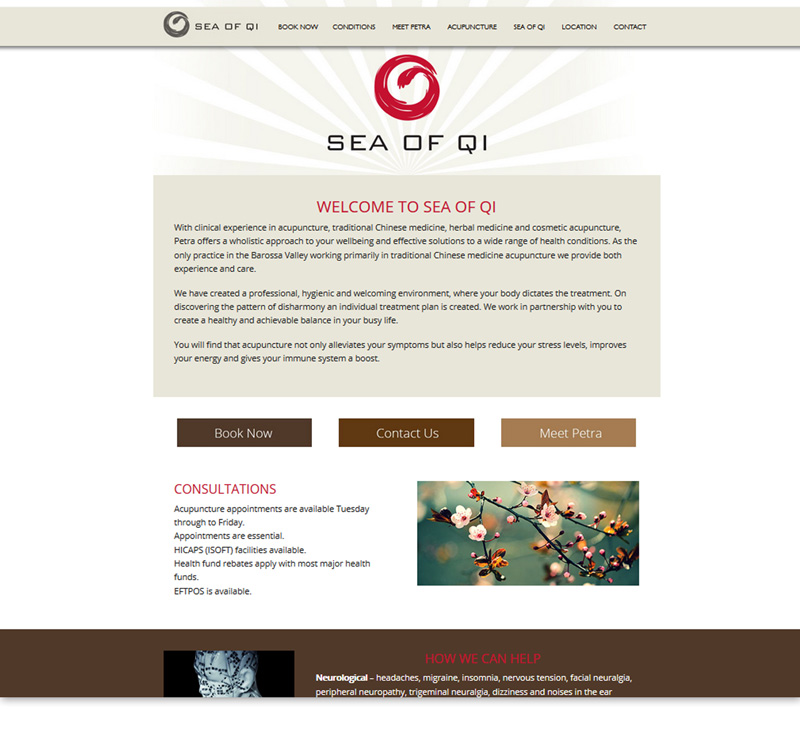 Sea of Qi | Acupuncture Barossa Valley