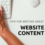 Tips for writing great website content