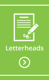 Letterheads for regional and rural business