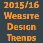 2016 website design trends
