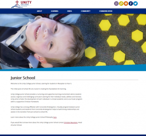seconf simplier website page design