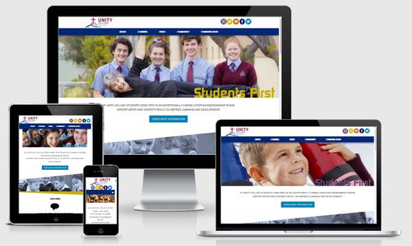 Website Design Trends 2016 Unity College