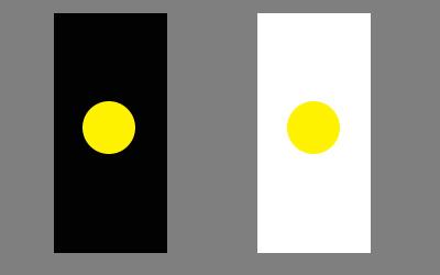 light-against-dark