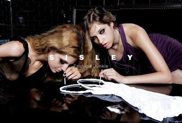 Sisley-Fashion-Junkie-funny-yet-controversial-advertisement