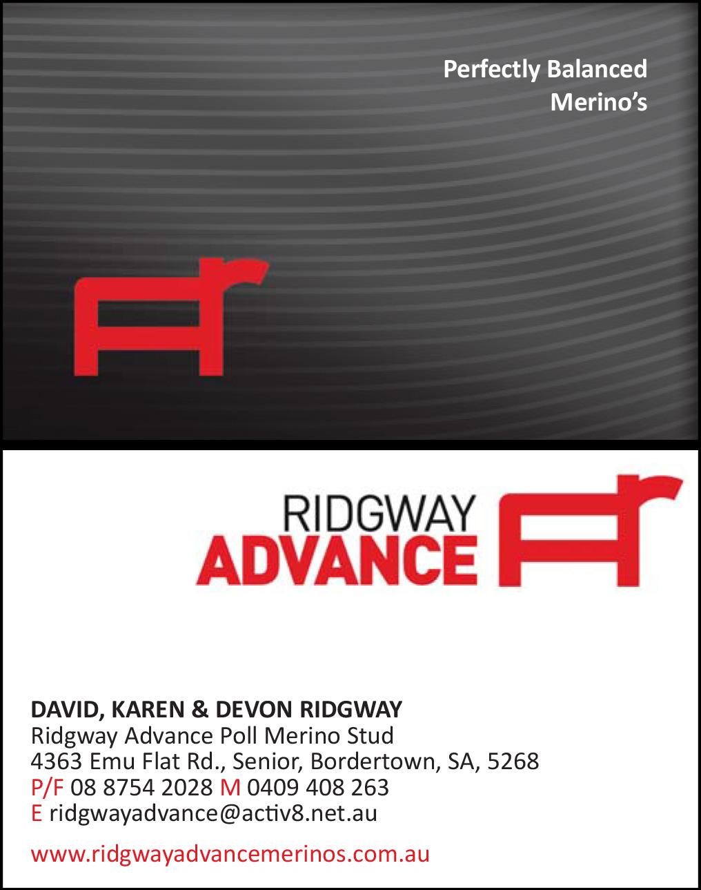 Ridgway Advance
