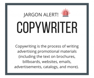 Jargon Alert: Copywriter